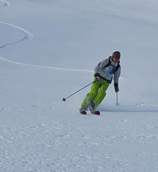 Pascal Gaudin - Professeur de sports de neige